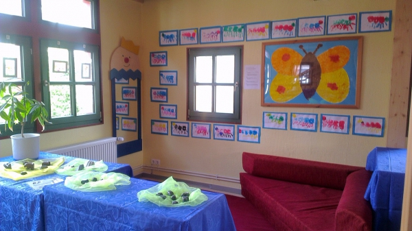 Kinderkunst in der KiTa
