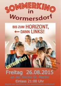 Sommerkino in Wormersdorf